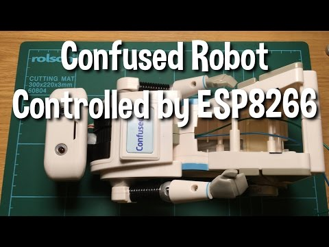 Confused.com Toy Robot voice controlled by an ESP8266 project (part 1/3)