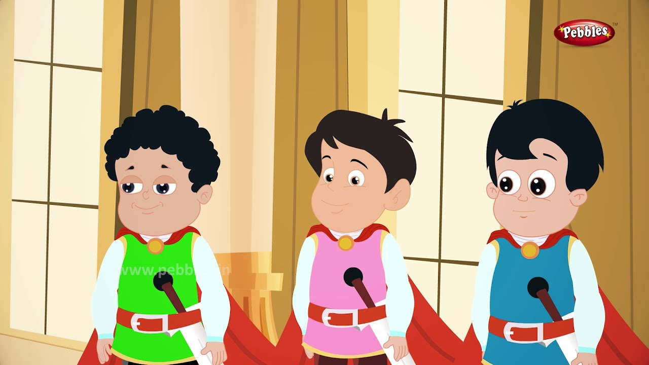 King and his 3 Sons Story in English | Moral Stories in English |  Storytelling For Kids