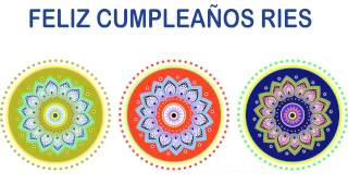 Ries   Indian Designs - Happy Birthday