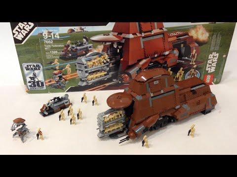 Lego 7662 Trade Federation MTT (2007) Review