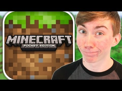 MINECRAFT: POCKET EDITION - Part 3 (iPhone Gameplay Video)
