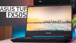 ASUS TUF FX505DT Review | Budget Gaming Laptop 2019