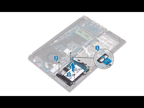 Dell Inspiron 7472  - Hard Drive Replacement  - Laptop Repair
