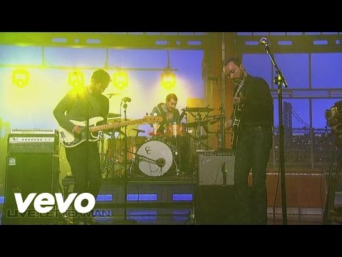 The Shins - Caring Is Creepy (Live On Letterman)