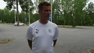VPSTV: Petri Vuorisen haastattelu Kups -ottelun alla