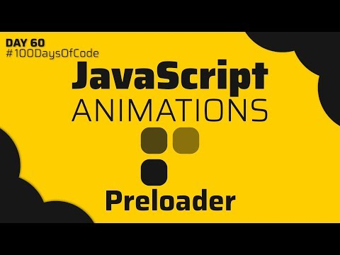 JavaScript Animations   How to make an animated Preloader : css