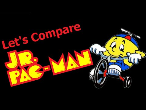 Let's Compare ( Jr. Pac Man )