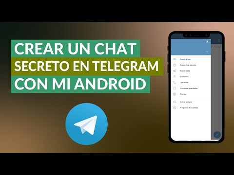 Cómo Abrir o Crear un Chat Secreto en Telegram con mi Android
