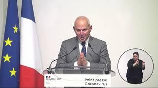 COVID-19 | Conférence de presse, 26 mars 2020, par le Directeur général de la santé  | Gouvernement