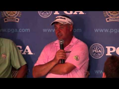 Darren Clarke PGA Grand Slam Bermuda October 18 2011