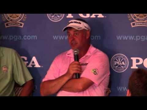 Darren Clarke PGA Grand Slam Bermuda October 18 2011