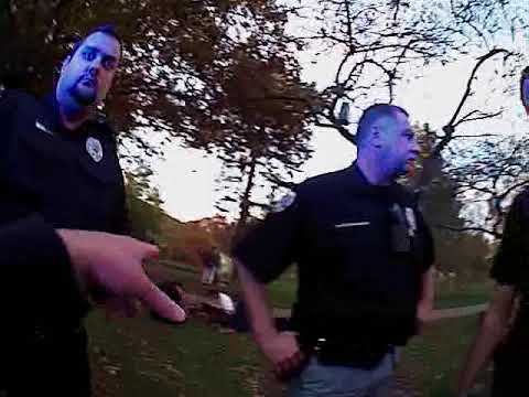 Oberlin Police body cam video (Gibson's Bakery)