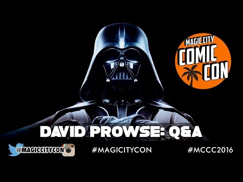 David Prowse Darth Vader Q&A at Magic City Comic Con Jan 2016