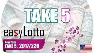 new york take 5 TAKE 5 results Nov 16 2017