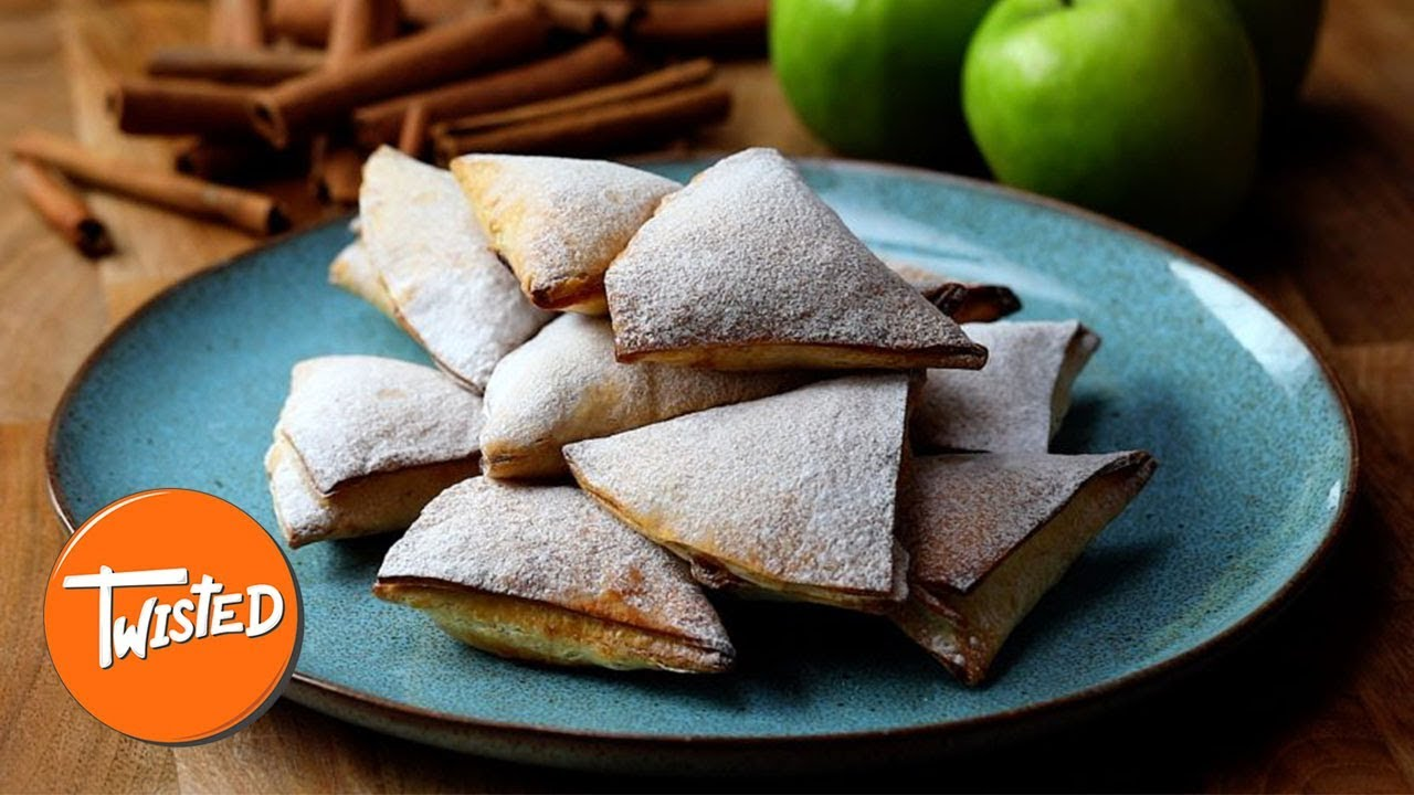 Homemade Apple Pie Triangles | Twisted