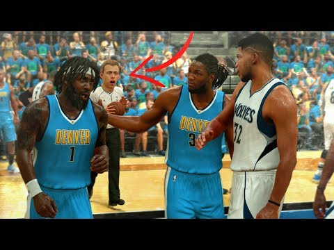 Karl Anthony Towns Wants The Fade! The Ref Can't Believe It! NBA 2K17 MyCAREER