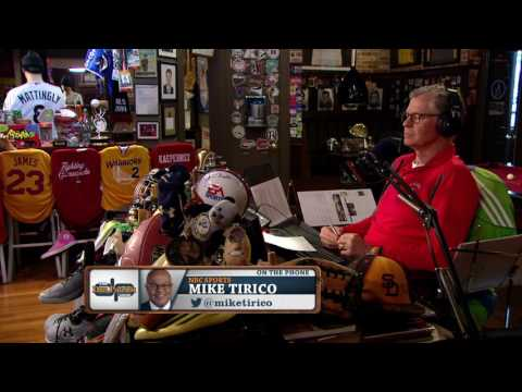 NBC Sports and Golf Channel's Mike Tirico talks Masters, Tony Romo and more (4/7/17)