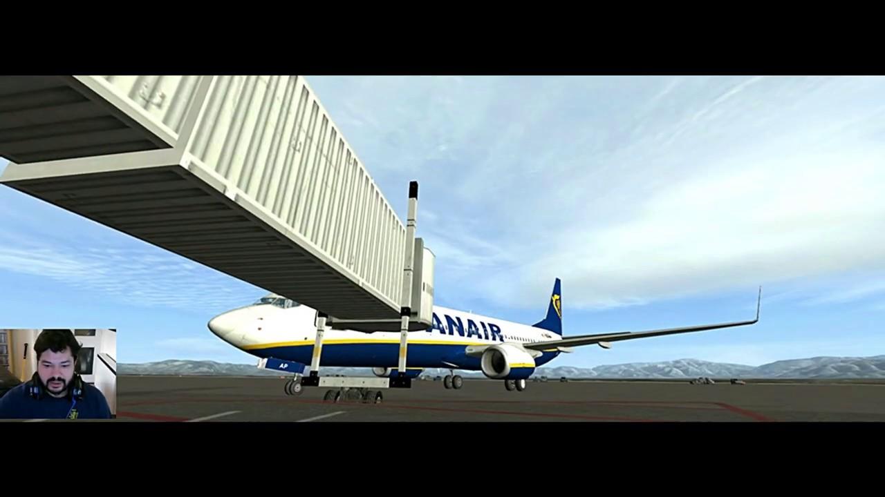 Fsx Full Flight Lepa Lmml Last Flight In Default Ryan Air Boeing 737 Youtube