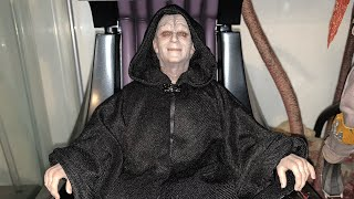 Star Wars Return Of The Jedi Hot Toys Emperor Palpatine 1/6 Scale Figure Unboxing