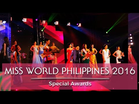 Miss World Philippines 2016 Special Awards!