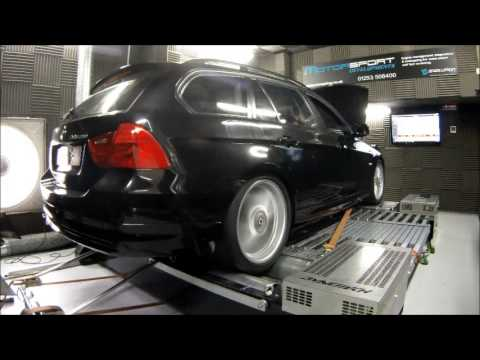 BMW Alpina D3 BiTurbo On the Dyno at Motorsport Developments In ...
