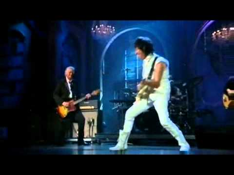 Jeff Beck and Jimmy Page Beck's Bolero and Immigrant Song R+R Hall of Fame   YouTube