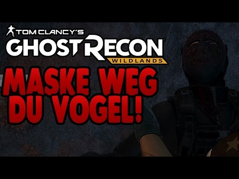 Tom Clancy's Ghost Recon Wildlands #44 - Maske weg du Vogel! - SachsenLetsPlayer