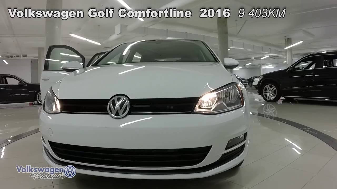 64757bb8fd27 VOLKSWAGEN GOLF COMFORTLINE 2016 (2G02060) - YouTube