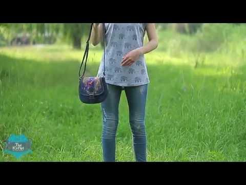 Молодежная женская сумка через плечо TRAUM купить в Украине. Обзор