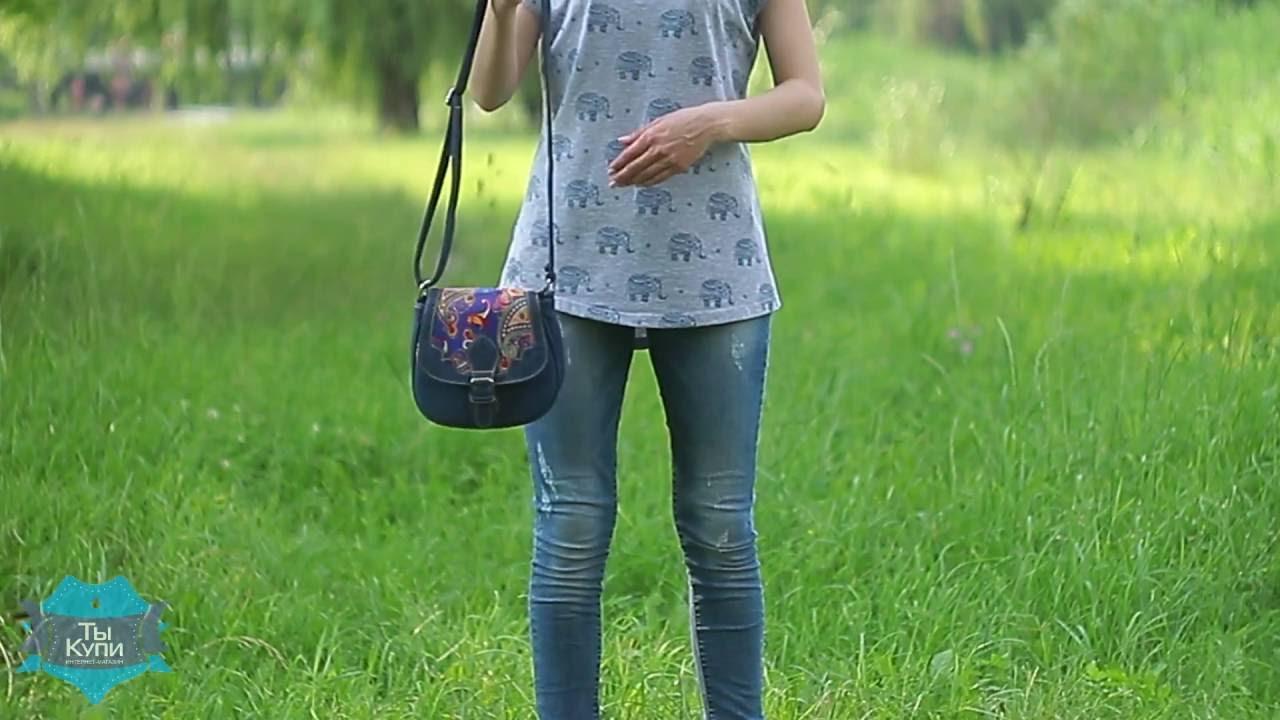 Женские сумки с Алиэкспресс - Молодёжная сумка через плечо в виде .