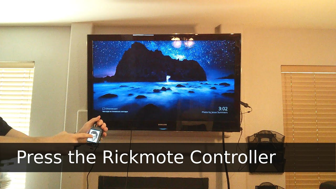 Rickroll Innocent Televisions With This Google Chromecast