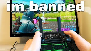 I Spent A Week Trying To Get BANNED on Fortnite