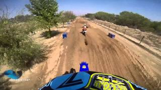 Surratt takes on the Assassin | Milestone Red Bull Straight Rhythm Helmet Cam - vurbmoto