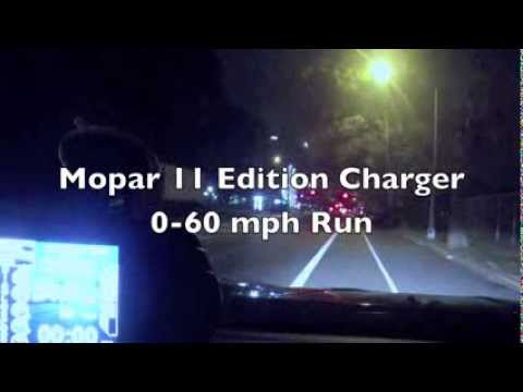 Mopar 11 Edition Dodge Charger 0-60 mph Time - Trinity Diablosport Tuner (Charger RT) - WATCH IN HD