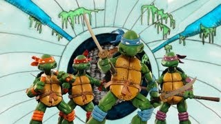 TMNT 2014 Stop Motion Intro (1987) theme song