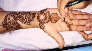 Gambar cover Step by Step Latest Mehndi Design For Hand 2018 # - MehndiArtistica!!