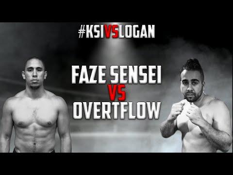 FaZe Sensei VS. Overtflow - FULL FIGHT #KSIvsLogan