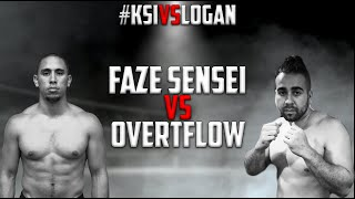 FaZe Sensei VS. Overtflow - FULL FIGHT #KSIvsLogan