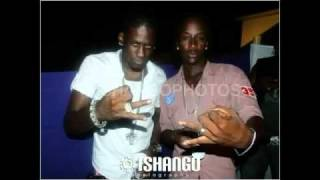 Aidonia  & Navino - Left  Dem White {{{Vybz Kartel Diss Jan13th 2011}}} -High Quality