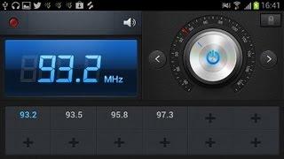 видео Приложение интернет fm радио для андроид