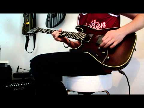 Avenged Sevenfold- Crimson Day- Guitar Solo Cover- Tom Gallagher