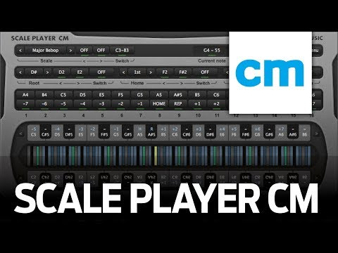FREE VST/AU MIDI Instrument: RF Music Scale Player CM