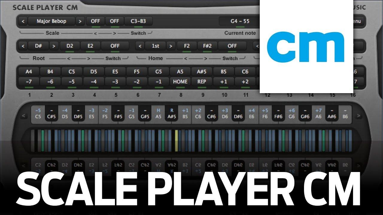 FREE VST/AU MIDI Instrument: RF Music Scale Player CM