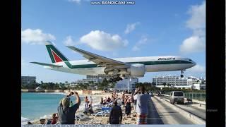 St.Maarten (World's hardest landing track) Roblox Plane simulator