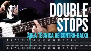Double Stops (aula técnica de contra-baixo)