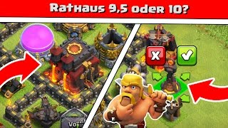 Clash of Clans | Rathaus 9,5 oder 10? | Reazor [Deutsch/German|HD]