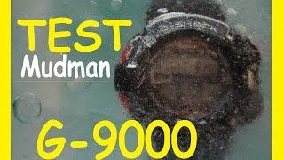 краш тест G-Shock G-9000 Mudman