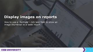 Display images on reports