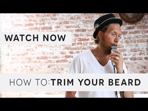 how to trim your beard if you 39 re growing it out youtube. Black Bedroom Furniture Sets. Home Design Ideas