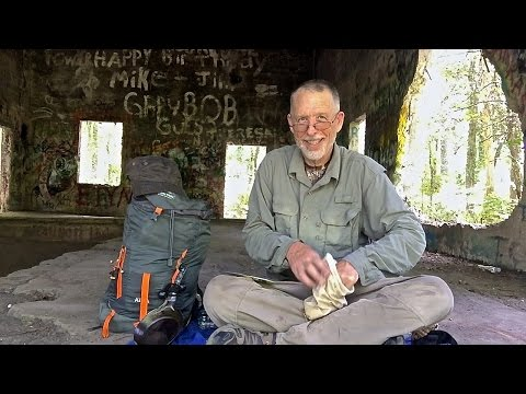 Ultralight Backpack to Ruins of Sawmill  Ghost Town